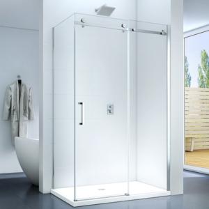 Capri 80 x 120 x 195 cm szögletes tolóajtós zuhanykabin