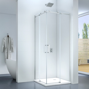 Rezzo 90 x 90 x 195 cm tolóajtós zuhanykabin