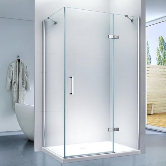 Monza 80 x 120 x 195 cm szögletes zuhanykabin