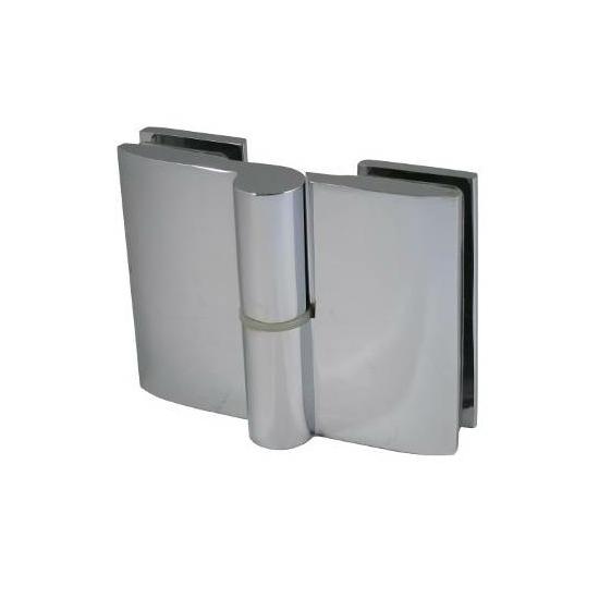 Üveg - üveg zuhanypánt 90 x 70 mm JOBBOS KIEMELŐ DUAL-7-23 R