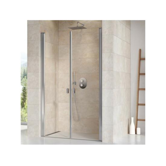Ravak CSDL2 Kétrészes zuhanyajtó 120x195 cm