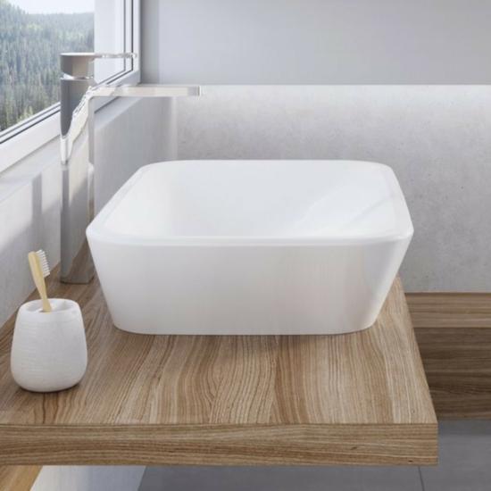 Ravak Ceramic R mosdó túlfolyó nélkül 600 x 400 x 120 mm
