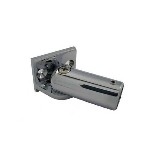 Fali üvegrögzítő csőhöz - állítható DUAL-C-03-SC