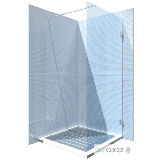 Fontessa Casarano 80-90 x 200 cm zuhanyfal