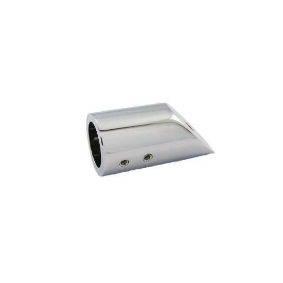 Fali üvegrögzítő csőhöz - 45° DUAL-C-02