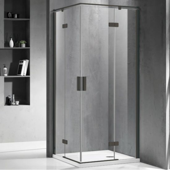 Wellis Murano zuhanykabin zuhanytálca nélkül 90 x 90 x 195 cm
