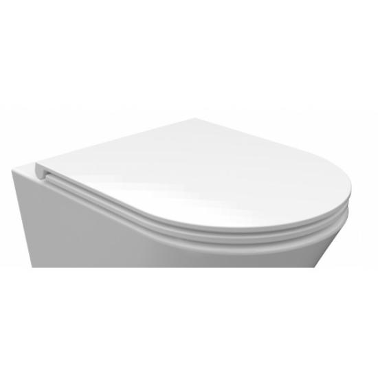 AREZZO design Indiana Slim Soft Close lecsapódásgátlós WC tető