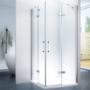 Kép 1/7 - Trento 80 x 80 x 195 cm szögletes zuhanykabin
