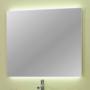 Kép 2/26 - Sanglass UNI T/5 tükör beépített LED világítással 80 x 4 x 80 cm_1