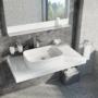 Kép 5/7 - Ravak Ceramic Slim R mosdó túlfolyó nélkül 550 x 370 x 120 mm_4