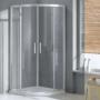 Kép 1/4 - Wellis Aquarius zuhanykabin zuhanytálca nélkül 90 x 90 x 190 cm