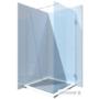 Kép 1/5 - Fontessa Casarano 90-100 x 200 cm zuhanyfal