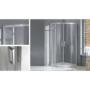 Kép 3/4 - Wellis Aquarius zuhanykabin zuhanytálca nélkül 90 x 90 x 190 cm_2