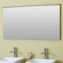 Kép 3/30 - Sanglass UNI T/1 tükör beépített LED világítással 76 x 4 x 68 cm_2