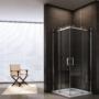 Kép 3/3 - Rezzo 90 x 90 x 195 cm tolóajtós zuhanykabin_1