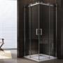 Kép 2/3 - Rezzo 80 x 80 x 195 cm tolóajtós zuhanykabin_0