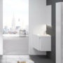 Kép 4/5 - Ravak 10° mosdó alatti szekrény fényes fehér 550, sarok kivitel_3