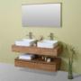Kép 3/20 - Sanglass Style alsószekrény mosdóval 140 x 50 x 18 cm_2