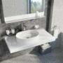 Kép 5/6 - Ravak Ceramic Slim O mosdó túlfolyó nélkül 550 x 370 x 120 mm_4