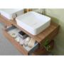 Kép 2/20 - Sanglass Style alsószekrény mosdóval 140 x 50 x 18 cm_1