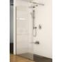 Kép 4/6 - Ravak WALK-IN WALL 90x200 cm zuhanyfal fekete_2