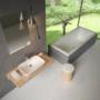 Kép 3/6 - Ravak Ceramic R mosdó túlfolyó nélkül 600 x 400 x 120 mm_2
